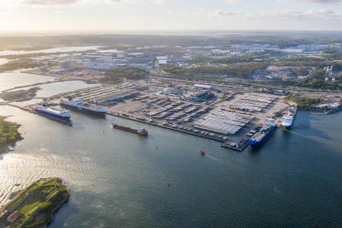 Inför Brexit – vad händer i Göteborgs hamn?