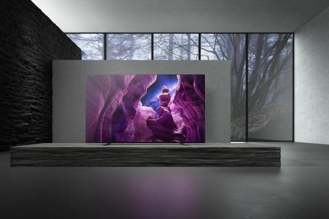 Noua serie de televizoare Sony A8 4K HDR OLED este disponibilă în România