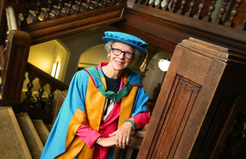Equal opportunities campaigner Beatrix Campbell OBE honoured by Northumbria University
