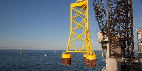 NGI skal i samarbeid med FRAMO installere understell til vindturbiner for DONG Energy
