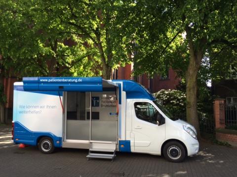 Beratungsmobil der Unabhängigen Patientenberatung kommt am 20. Februar nach Düsseldorf