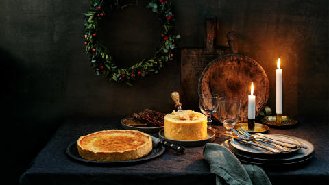 Swisha en Västerbottensost® Mittbit som julgåva