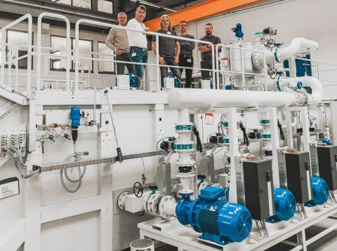 FAT-test av central skärvätskereningsanläggning