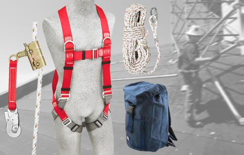 Bild med länk till Nyheten: Glöm inte din säkerhet på taket - vårt bästa fallskyddspaket till kampanjpris!
