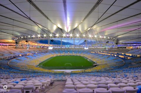 Maracanã - en av verdens smarteste fotballarenaer