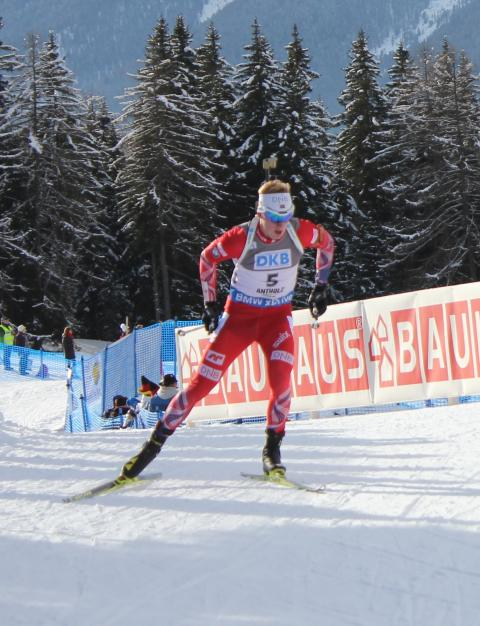 Johannes sprint Anterselva