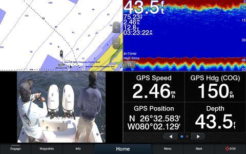 Garmin_GC 14_Übertragung auf Plotter