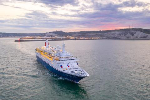 Fred. Olsen Cruise Lines' 'Boudicca' to set sail from Dover on longest-ever voyage!