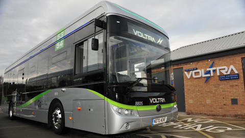 Renowned YouTuber features region's largest bus company and its state-of-the-art electric buses