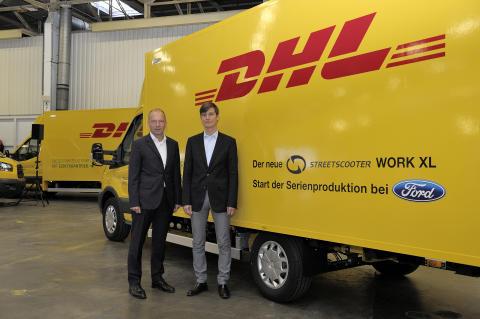 Ford zahájil výrobu elektrické dodávky Deutsche Post StreetScooter WORK XL
