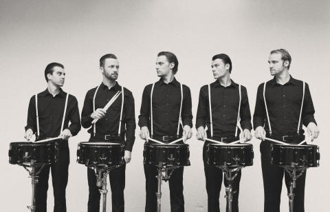"Pressefoto ""Die Schlagzeugmafia"""