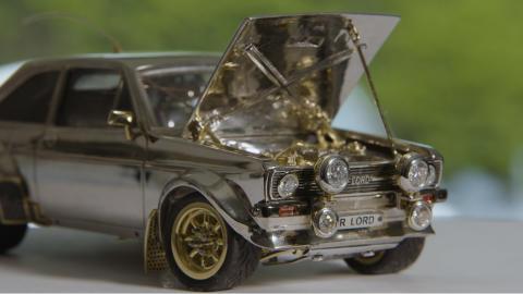 Ford Escort som miniatyr