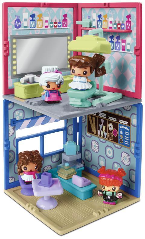 MyMiniMixieQs Minizimmer Sortiment (Salon & Café)