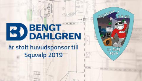 Bengt Dahlgren går in som huvudsponsor till Squvalp 2019