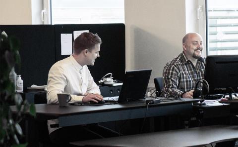 Nicolai Sørensen er netop gået fuld tid som webdesigner og marketing konsulent