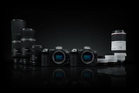 Canon lanserer fire nye RF-objektiver som utvider objektivutvalget med supertele  og to RF-telekonvertere