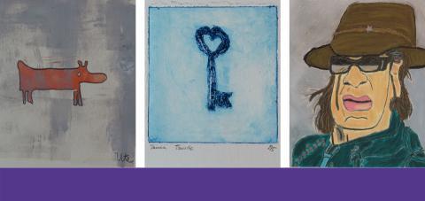 Inklusives Hephata-Atelier Farbenhaus zeigt Kunst in multimedialer Online-Ausstellung