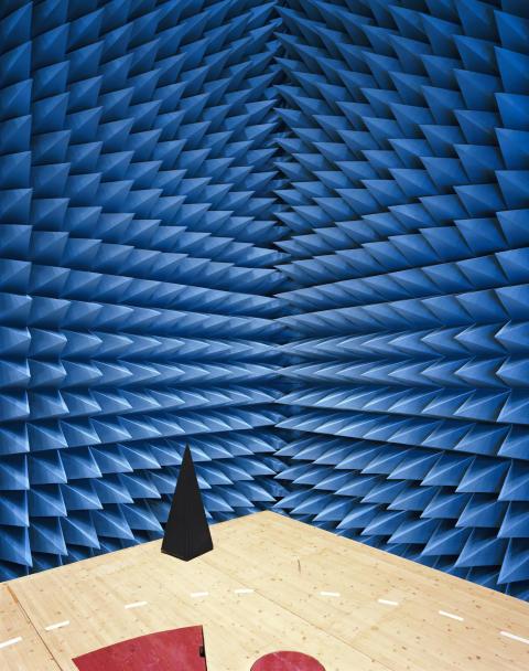Maxwell Electromagnetic Chamber, ESTEC-ESA (Netherlands)