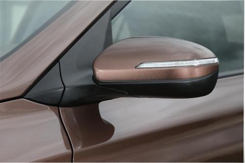 Nye Hyundai i20 (speil)