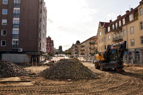 Ytterligare avstängningar i Hässleholms centrum