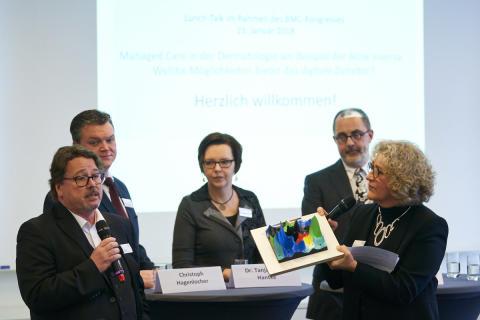 Digitalkooperation: Bessere Versorgung für Patienten mit schmerzhafter Hauterkrankung