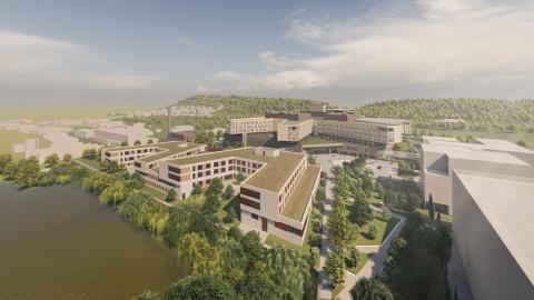 ZÜBLIN startet Rohbauarbeiten für Zentralklinikum in Lörrach