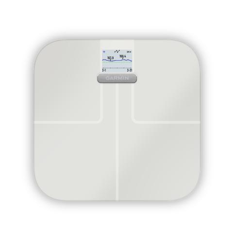 Garmin Index S2 Gewichtstrend