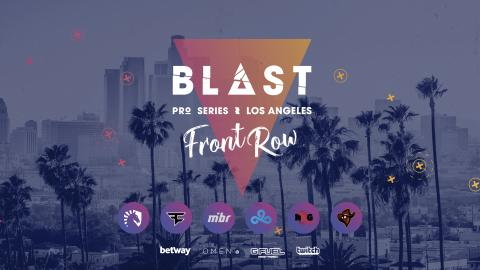 Important! Accreditation information for BLAST Pro Series Los Angeles: Front Row