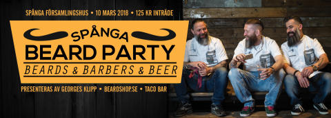 Spånga Beard Party