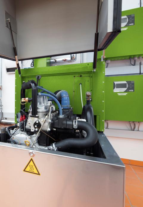Wärme und Strom aus effizientem Blockheizkraftwerk für Bildungszentrum Bad Oeynhausen