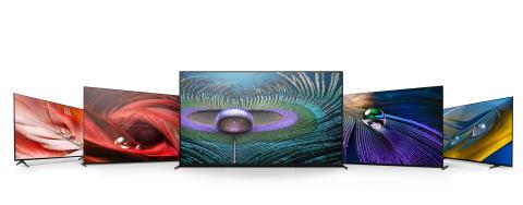 Sony Europe lanserar nya tv-apparater i produktserien BRAVIA LED