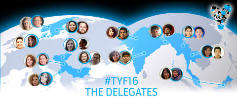 TYF participants banner