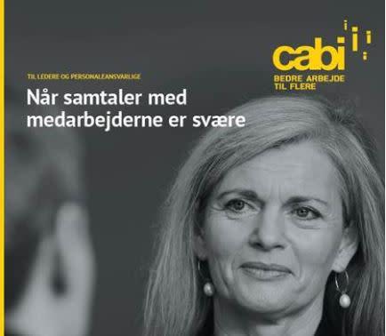 Hent Cabis gratis publikation med viden og redskaber om de sævre samtaler om sygefravær