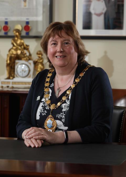 Mayor Councillor Maureen Morrow