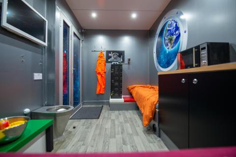HMS Supernova's escape room