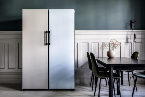 Så inreder du hemmet med teknik_Samsung Bespoke kyl/frys