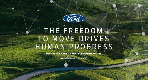 Ford sætter fart på miljømål og når CO2-målsætning otte år før tid