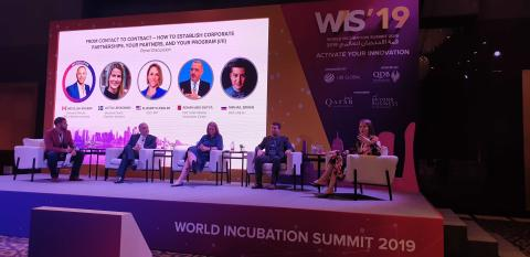 Chalmers Ventures vinner kategorin 'Most Promising Woman Founders' på UBI Global's årliga World Incubation Summit 2019.