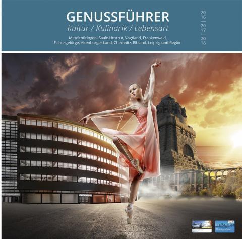 Das Titelblatt für Sachsen vom neuen Genussführer