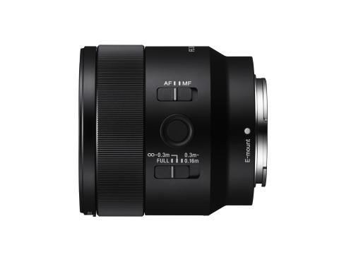 Sony представя пълноформатен 50 мм F2.8 Макро обектив. Лек и компактен 50 мм обектив с 1:1 макро разделителна способност