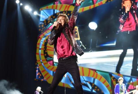 Live-optagelse fra Rolling Stones-koncert