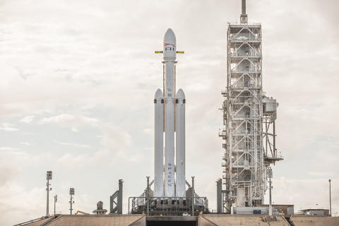 Tesla to space