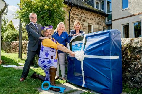 Fibre fun for Glenfarg thanks to Digital Scotland Superfast Broadband