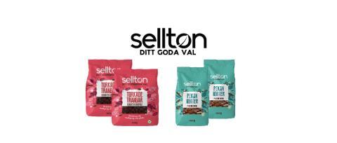 Selltons naturliga nötter och torkad frukt tar plats i Sveriges hem tillsammans med Movement!
