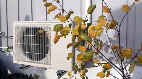 Gjør varmepumpe klar for vinteren