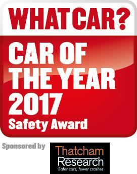 Thatcham Research continues its sponsorship of the What Car? Safety Award