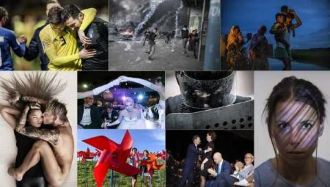 Årets bild-pristagare på Arbetets museum