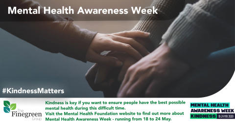 Mental Health Awareness Week - A structured day could help your mind work, rest and play!