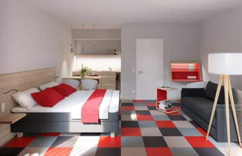 Im September 2016 eröffnet in Leipzig das Appartementhaus Miaboda