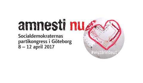 Vi går på s-kongress Göteborg 8-12 april